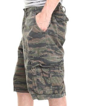 DRJ Army/Navy Shop - Tiger Stripe Vintage Infantry Utility Shorts