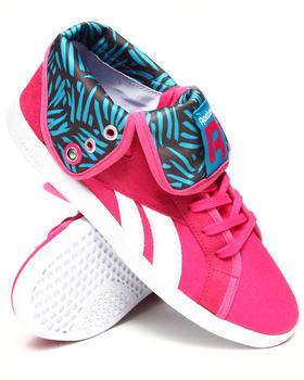 Reebok - Top Down Snaps Textile Sneakers