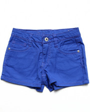 Girls - Basic Twill Shorts (7-16)
