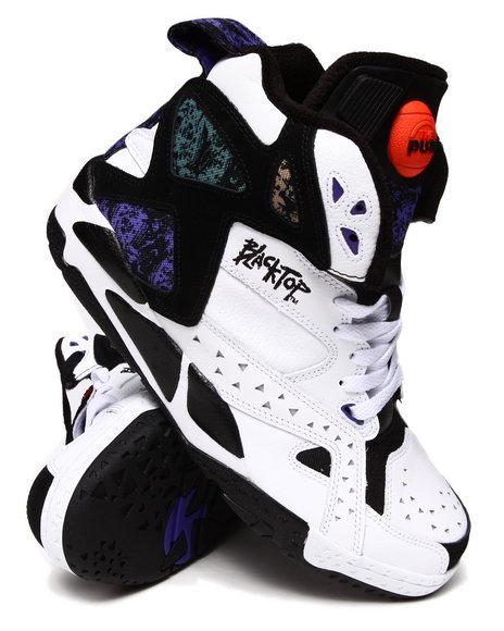 Reebok Black,White Blacktop Battleground Sneakers *Limited Edition*