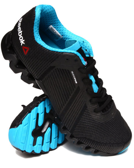 Reebok Black Zigtech 3.0 Energy Sneakers