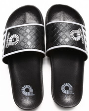 Akademiks - Neal Side Stripe Slip On Sandal