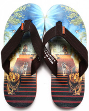 Sandals - Taj Mahal Sublimation Flip-Flop