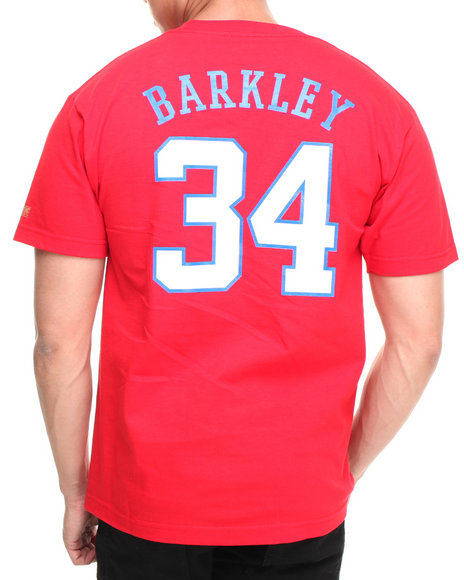 Hall of Fame Red Logo Jumbotron Barkley Tee
