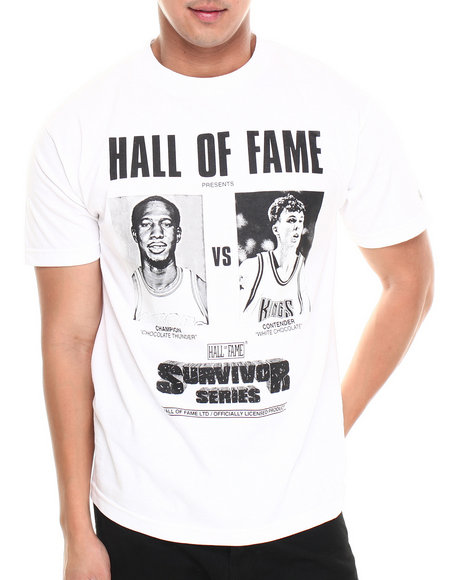 Hall of Fame White Survivor Series Tee