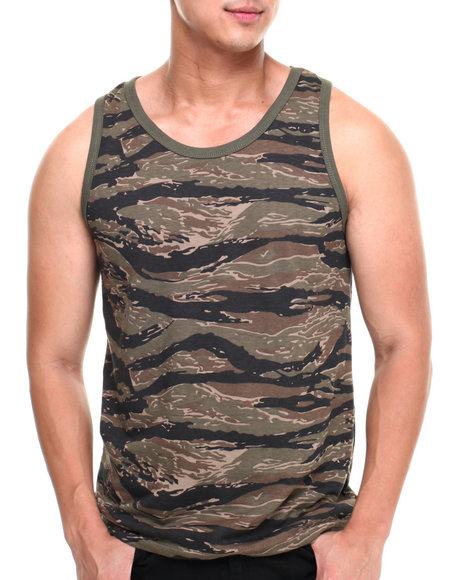 Rothco - Men Camo Tiger Stripe Tank