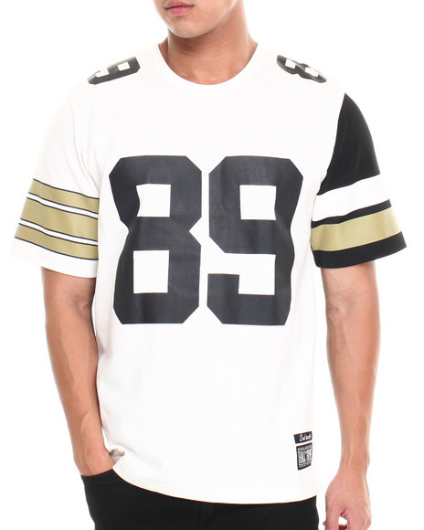 Hall of Fame Black,Gold,White Bavaro New Vintage Jersey