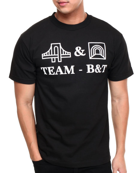 Hall Of Fame - Men Black B&T Tee - $13.99