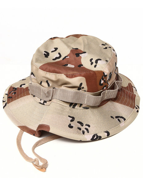 Men Camo Desert Camo Bucket Hat