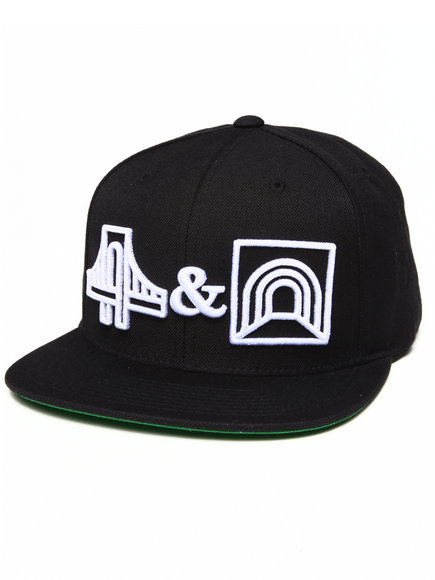 Hall Of Fame B&T Snapback Cap Black