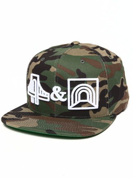Hall Of Fame Men B&T Snapback Cap Camo