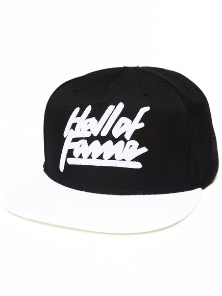 Hall Of Fame Thunder Snapback Cap Black