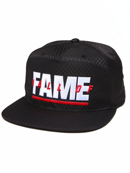 Hall Of Fame Patriot Snapback Cap Black
