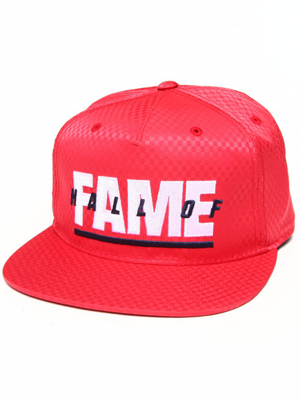 Hall Of Fame Patriot Snapback Cap Red