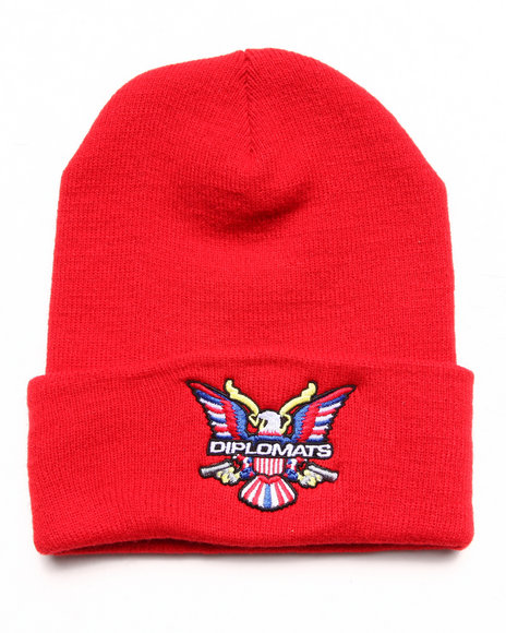 Diplomats Men Diplomats Og Eagle Beanie Red - $24.99