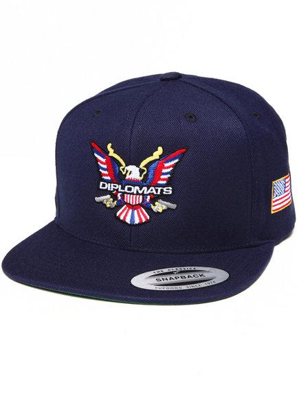 Diplomats Diplomats Og Eagle Snapback Cap Navy