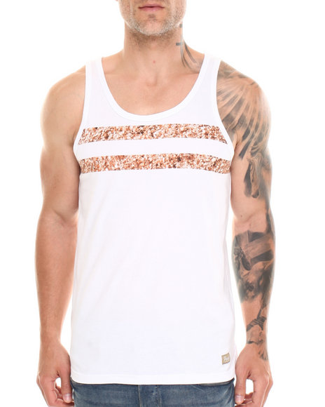 Parish White Sea Stripe Tank