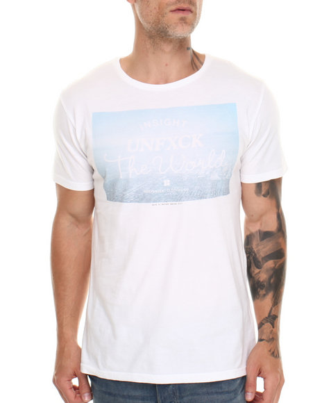 Insight White Unfxck T-Shirt