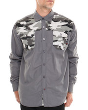 Men - Sniper L/S Button-Down