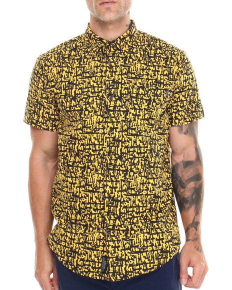 Insight Yellow Crossmaker S/S Button-Down