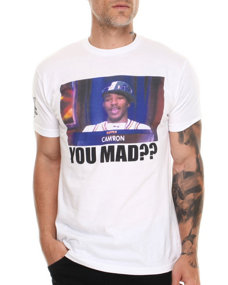 Diplomats White Camron You Mad?? Tee