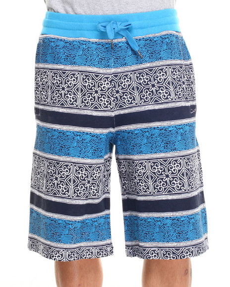 Parish Blue Batik Sweatshort