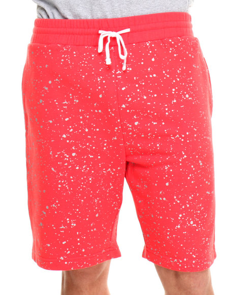 DOPE Red Splatter Sweatshort