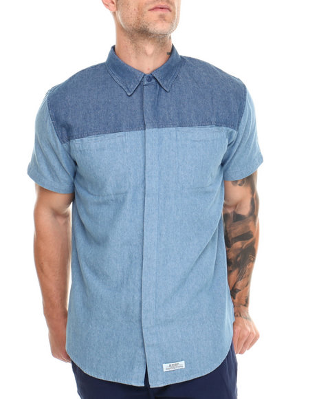 Insight Blue Ives S/S Button-Down