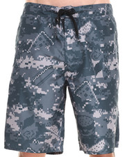 DJP OUTLET - Food Camo Shorts