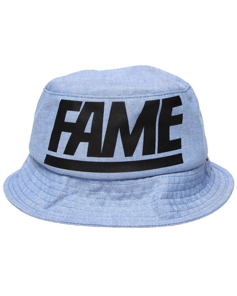 Hall of Fame Blue Fame Block Bucket Hat
