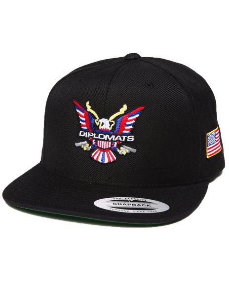 Diplomats Diplomats Og Eagle Snapback Cap Black