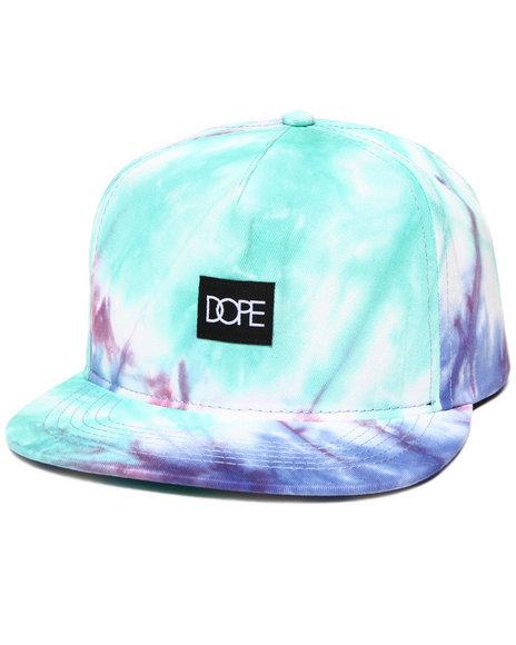 Dope Tie-Dye Snapback Teal