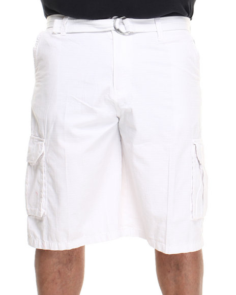 Ecko White Cliffside Cargo Short (Big & Tall)