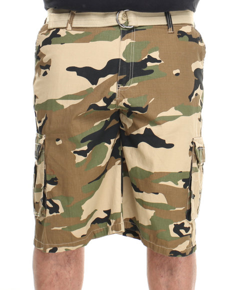 Ecko - Men Camo Cliffside Cargo Short (B&T)