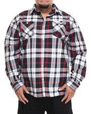 Men - Henry Plaid L/S Button-Down (B&T)
