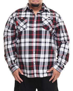 Enyce - Henry Plaid L/S Button-Down (B&T)