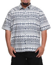 Buyers Picks - Aztec Print S/S Button-Down (B&T)