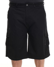 Parish - Solid Cotton Twill Short (B&T)