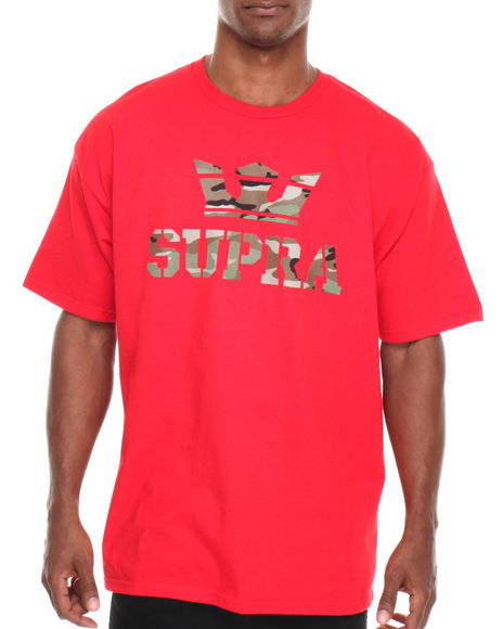 Supra Camo,Red Above Tee