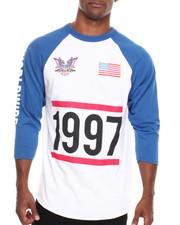 Shirts - Dipset USA 1997 Baseball Raglan Tee