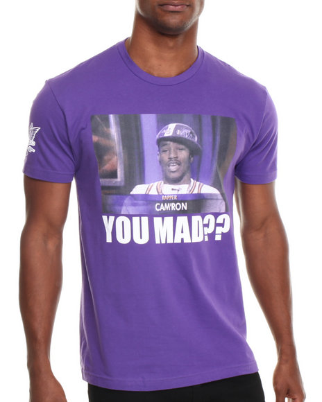 Diplomats - Men Purple Camron You Mad?? Tee - $16.99