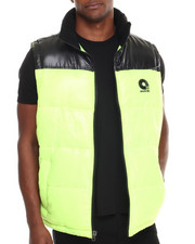 Vests - Flossosin Padded Neon Bubble Vest