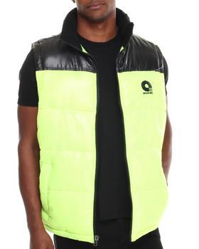 Akademiks - Flossosin Padded Neon Bubble Vest