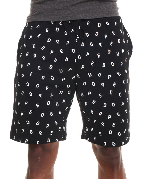 DOPE Black Dope Boy Sweatshorts