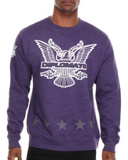 Men - Dipset USA Star Eagle Crewneck Sweatshirt