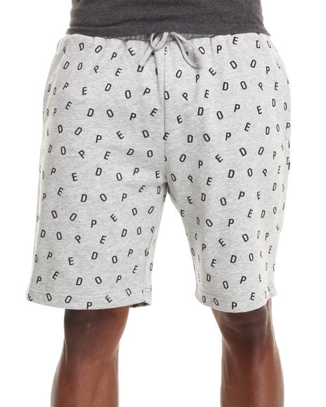 DOPE Grey Dope Boy Sweatshorts