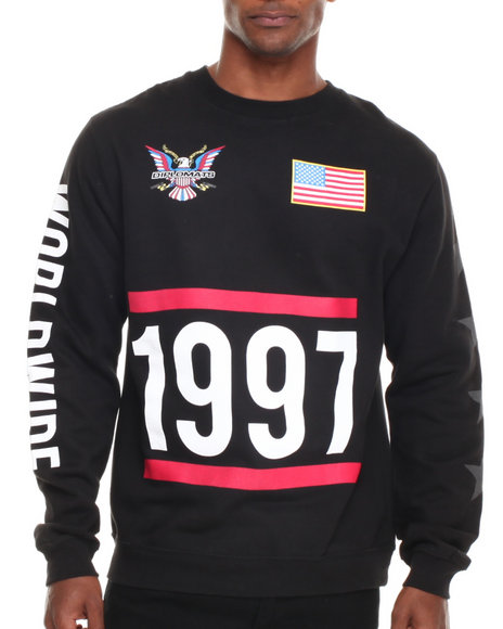 Diplomats - Men Black Dipset Usa 1997 Crewneck Sweatshirt