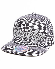 Men - Brooklyn Allover print Phychadelc City Snapback