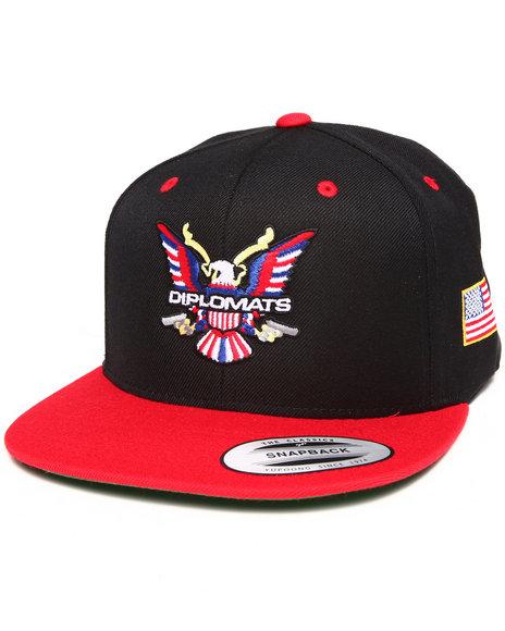 Diplomats Diplomats Og Eagle Snapback Cap Red