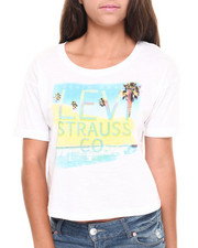 Tees - Hotel California Boxy Crop Tee